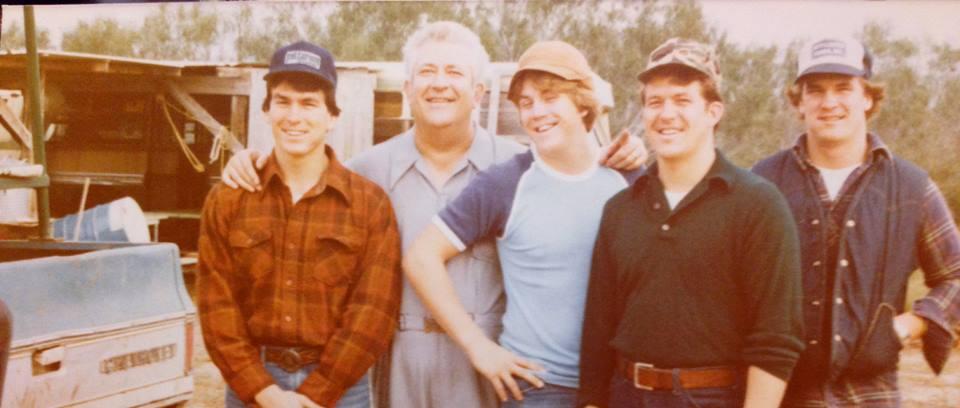 Dad & His Sons