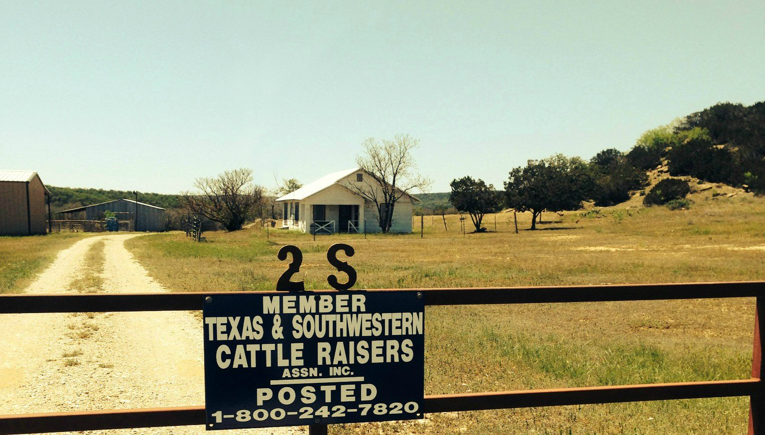 The original Provision House at the 2S Ranch.