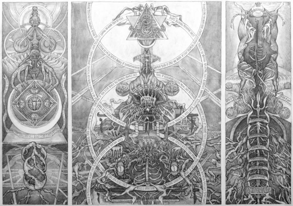 """Portal For A Drunken God' - David Chiam Smith"