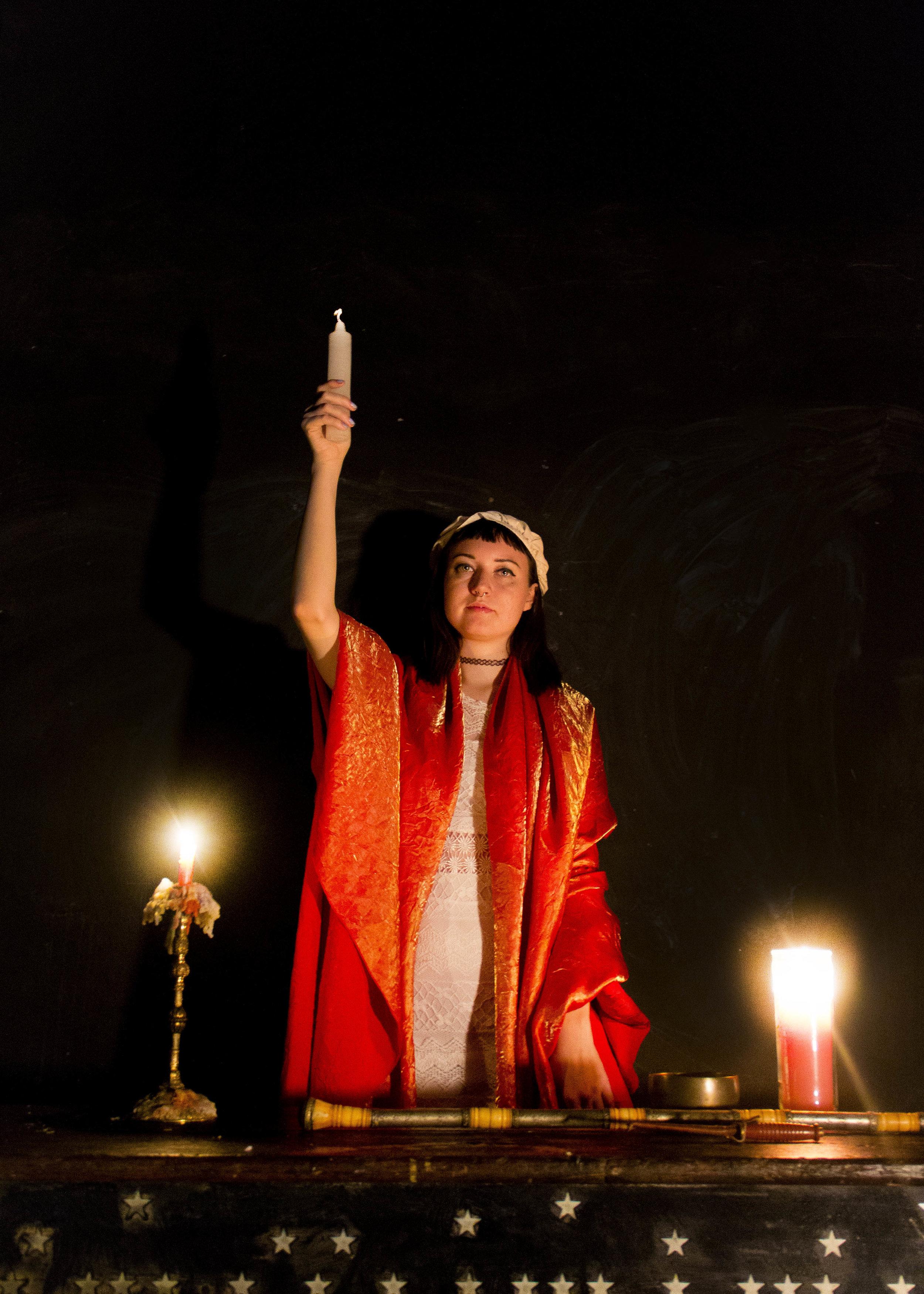Novitiate Gigi Mead as The Magician