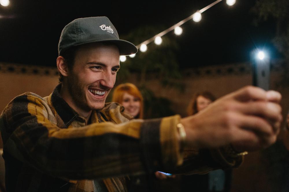 Ben Biondo Thanksgiving Selfie