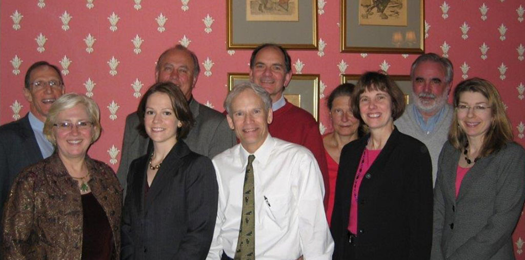 First face-to-face meeting of the National POLST Paradigm Task Force in New Orleans, 2007. (Not pictured: Sally Denton, Marlene Davis)