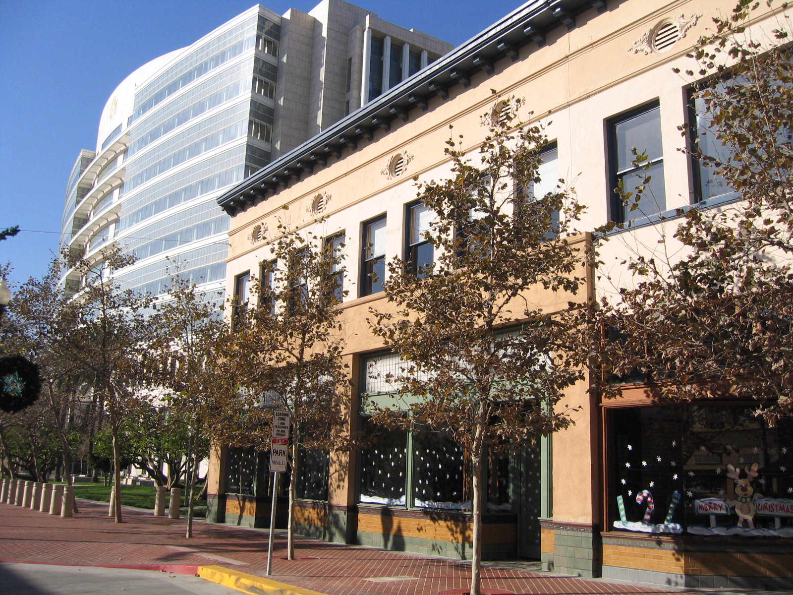 RSG and the Good Beer Company's building today, next to the Ronald Reagan Federal Building & Courthouse in downtown Santa Ana