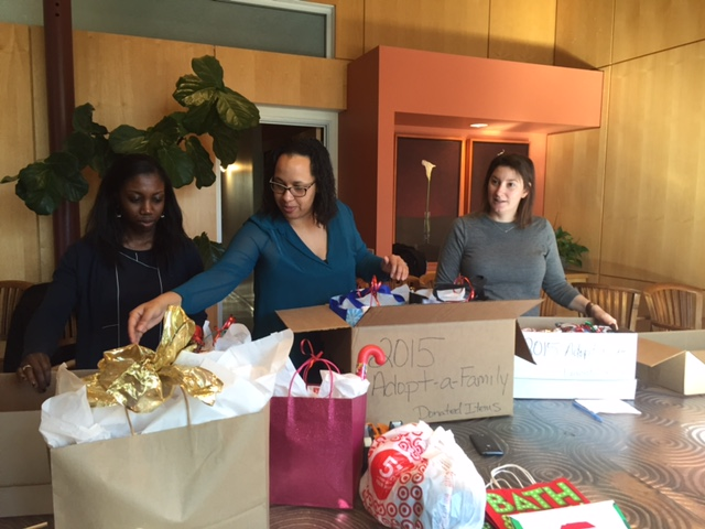 More wrapping for RSG's Adopt a Family