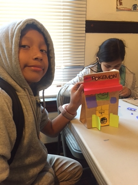 The students came up with incredibly creative ideas, like this Pokémon business!