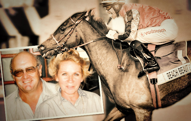 Trevor and Minou Armitage - Beach Beauty Horse