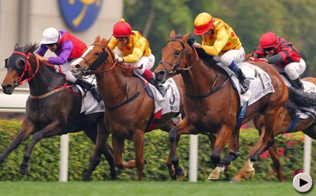 Akeed Mofeed wins the Hong Kong Derby
