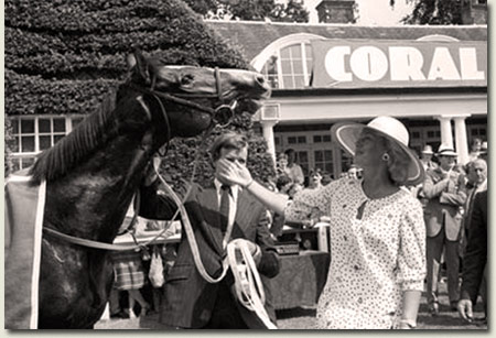 Sadler's Wells wins the 1984 Coral Eclipse Stakes