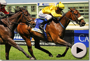Tales Of Bravery wins the Jet Master Stakes