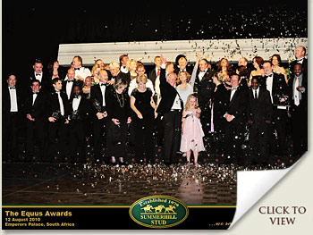 equus awards 2010 at emperors palace south africa