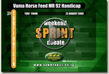vuma horse feed mr 92 handicap turffontein south africa