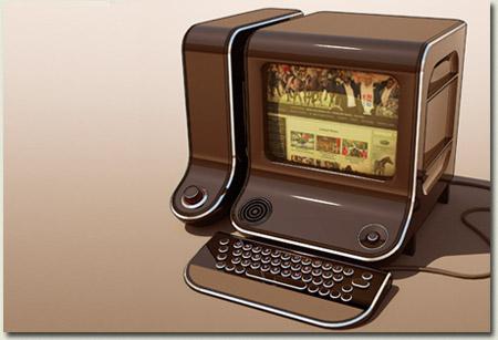 Old Farm Computer