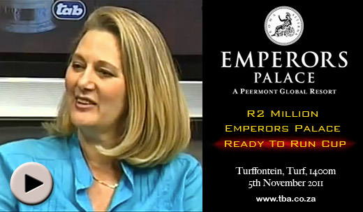 Emperors Palace Ready To Run Cup Barrier Draw