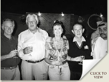 mick and cheryl goss with graham beck and laurie jaffee in dubai