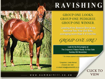 Ravishing Group One Sire