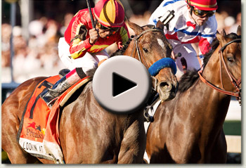 lookin at lucky preakness stakes 2010 video