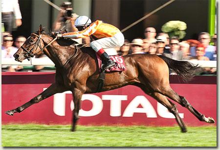 Danedream win Qatar Prix de l'Arc de Triomphe