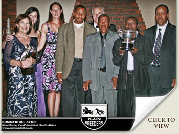 KZN Breeders Awards 2011