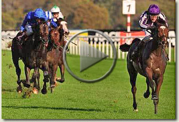 st nicholas abbey racing post trophy 2009 video