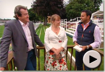 Rishi Persad, Lydia Hislop and Steve Mellish - Juddmonte International Stakes 2012 Preview