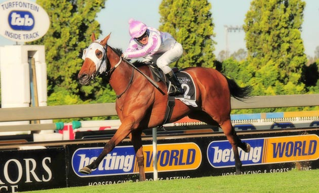 Pierre Jourdan wins the 2011 Peermont Emperors Palace Charity Mile