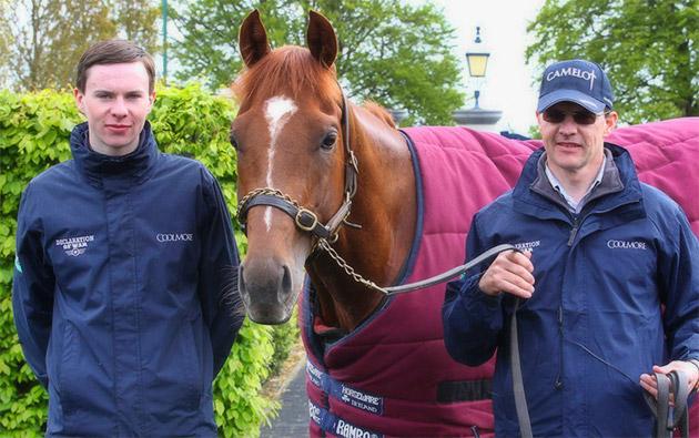 Joseph O'Brien and Aidan O'Brien with Australia / Sporting Post (p)