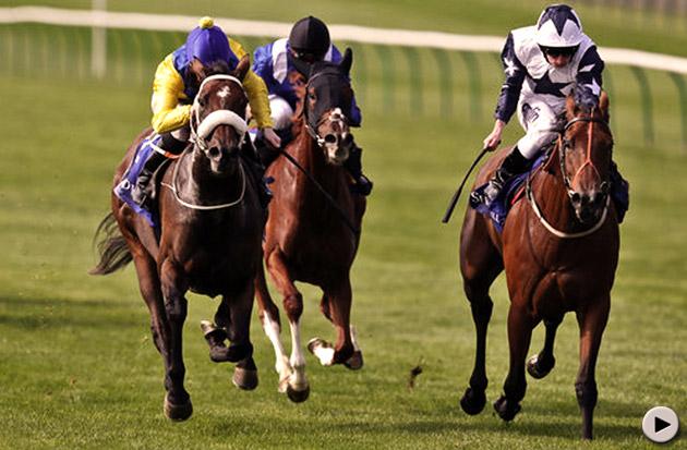 Zurigha and Igugu - Rosemary Stakes