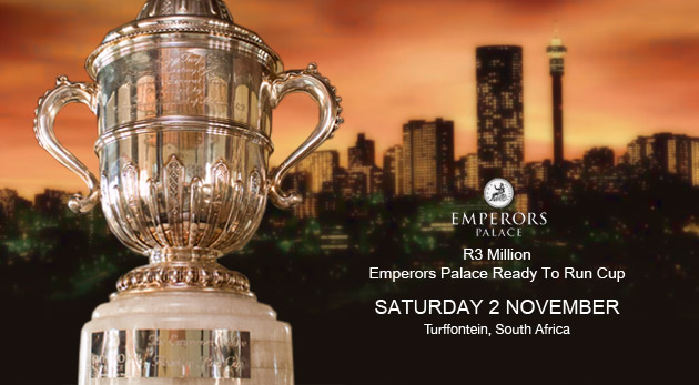 Emperors Palace Ready To Run Cup - Turffontein
