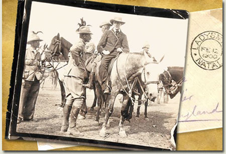 Winston Churchill escapes from Boers