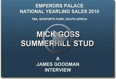 mick goss interview video