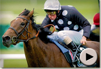 Izzy Top wins the Pretty Polly Stakes
