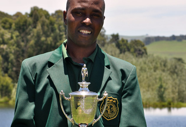 Thabani Nzimande - National Stud Best Practical Student 2012