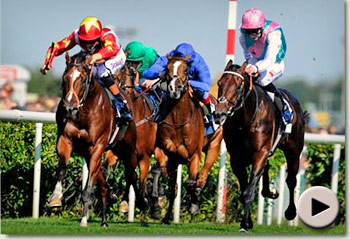 Toronado win the Champagne Stakes