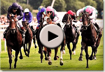 rip van winkle winning the juddmonte international stakes at york racecourse video