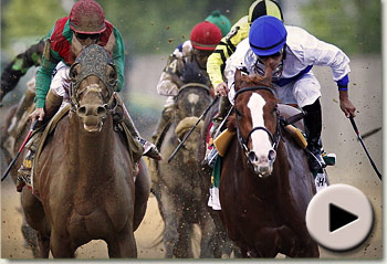 Shckleford win the 136th Preakness Stakes