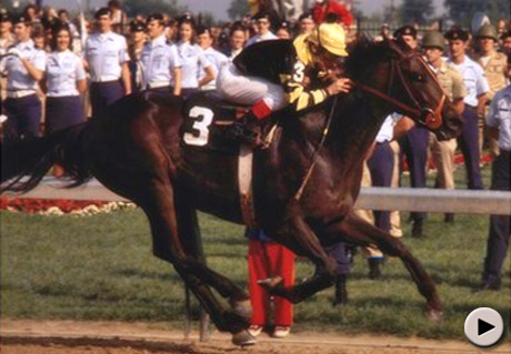 Seattle Slew wins 1977 Kentucky Derby