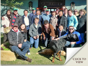 Chinese Horseracing Delegation visit to South Africa