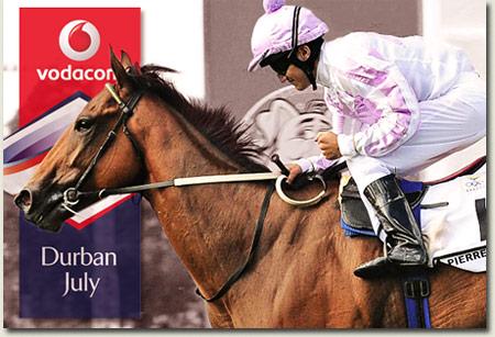 Pierre Jourdan - Vodacom Durban July runner