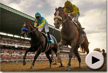 Union Rags wins Belmont Stakes