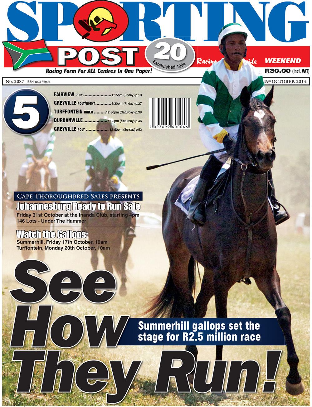 Sporting Post - Johannesburg Ready To Run Sale 2014