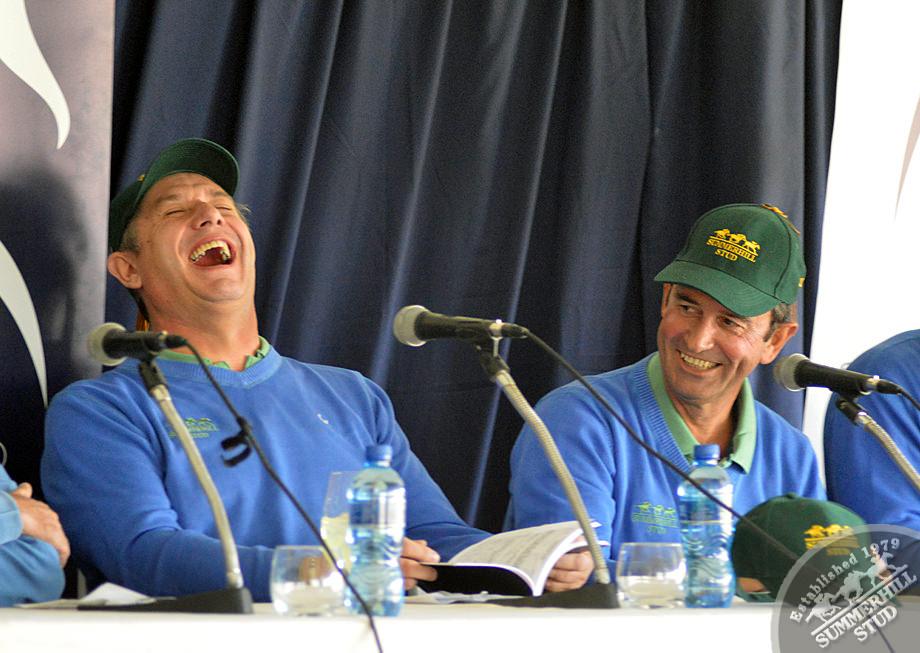 Joey Ramsden and Dean Kannemeyer