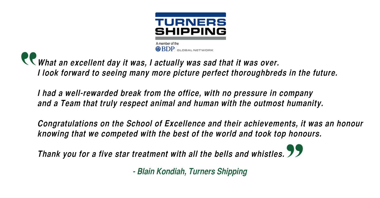 Blain Kondiah - Turners Shipping
