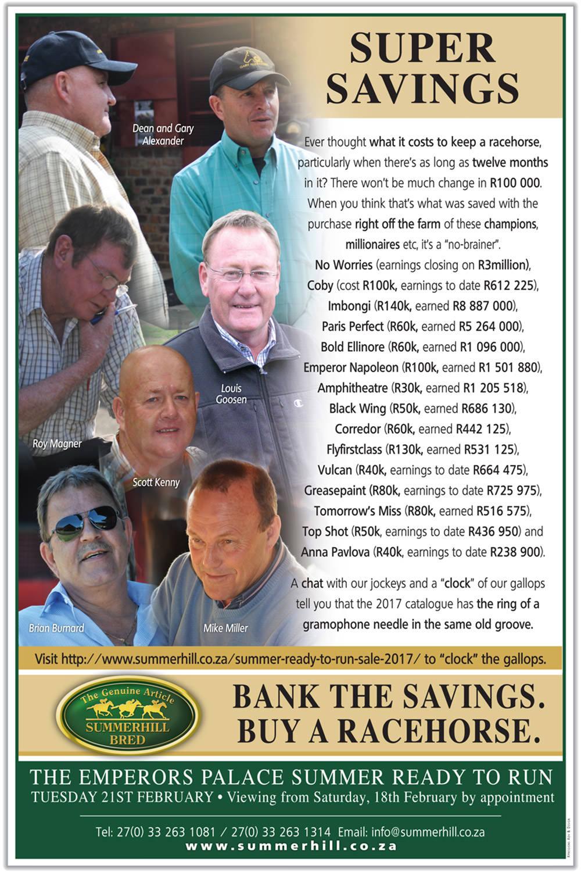 Super Savings Summer Ready To Run Sale