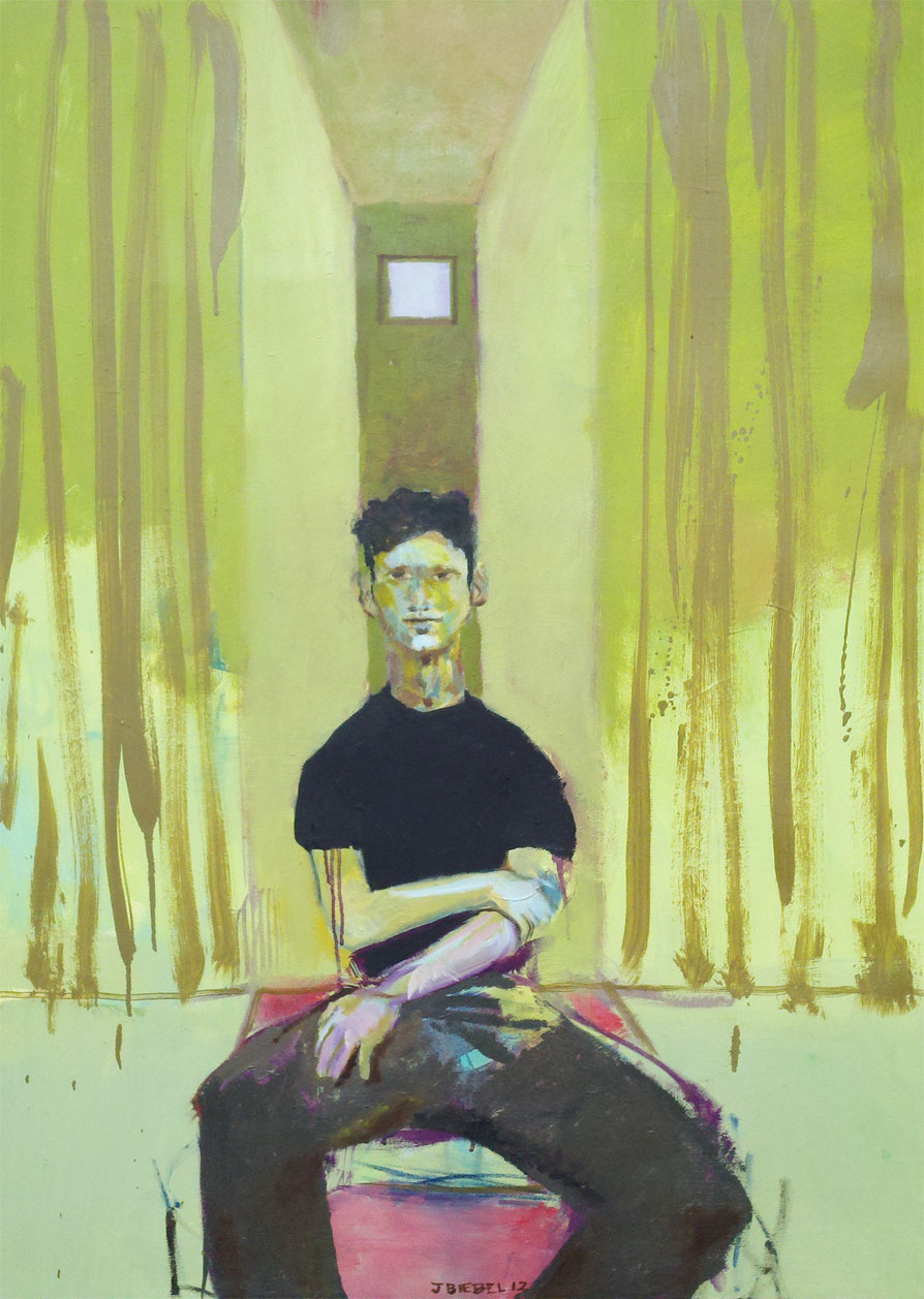 Anonymous Portrait, Mint Green Studio
