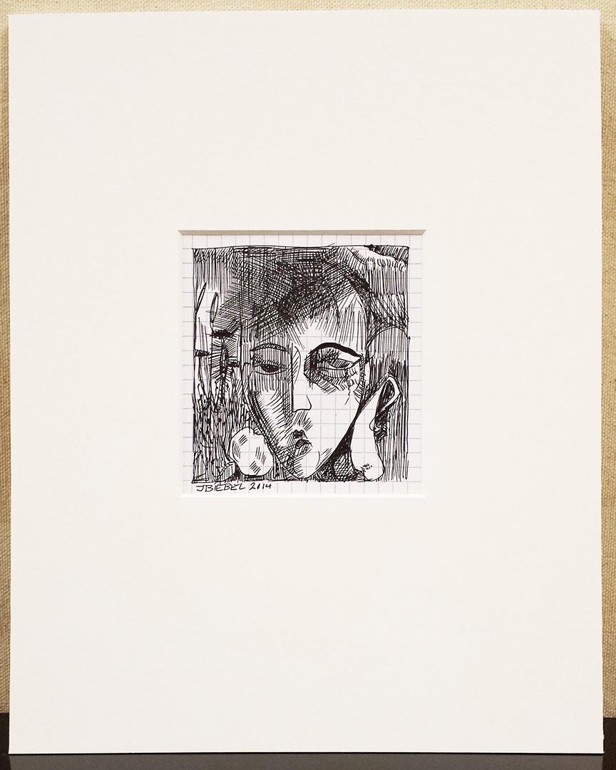 Cubist Woman (20's Portrait)