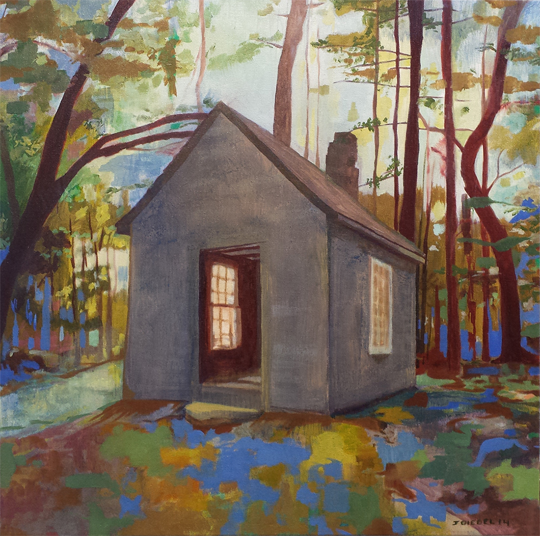 Thoreau's Hut at Walden