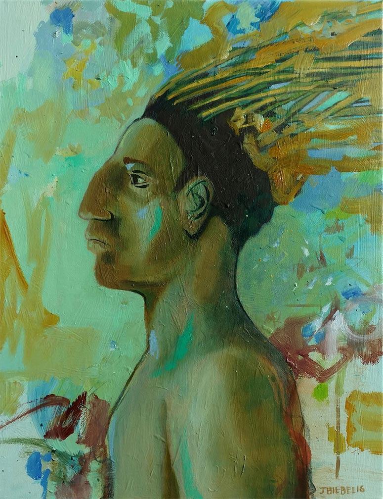 Imaginary Portrait: Dakota Man