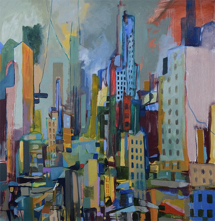 Cityscape Before Rain (Version I)