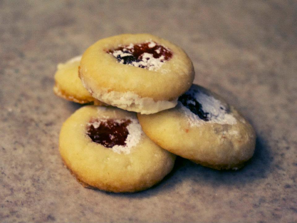 Thumbprint Jam Cookie