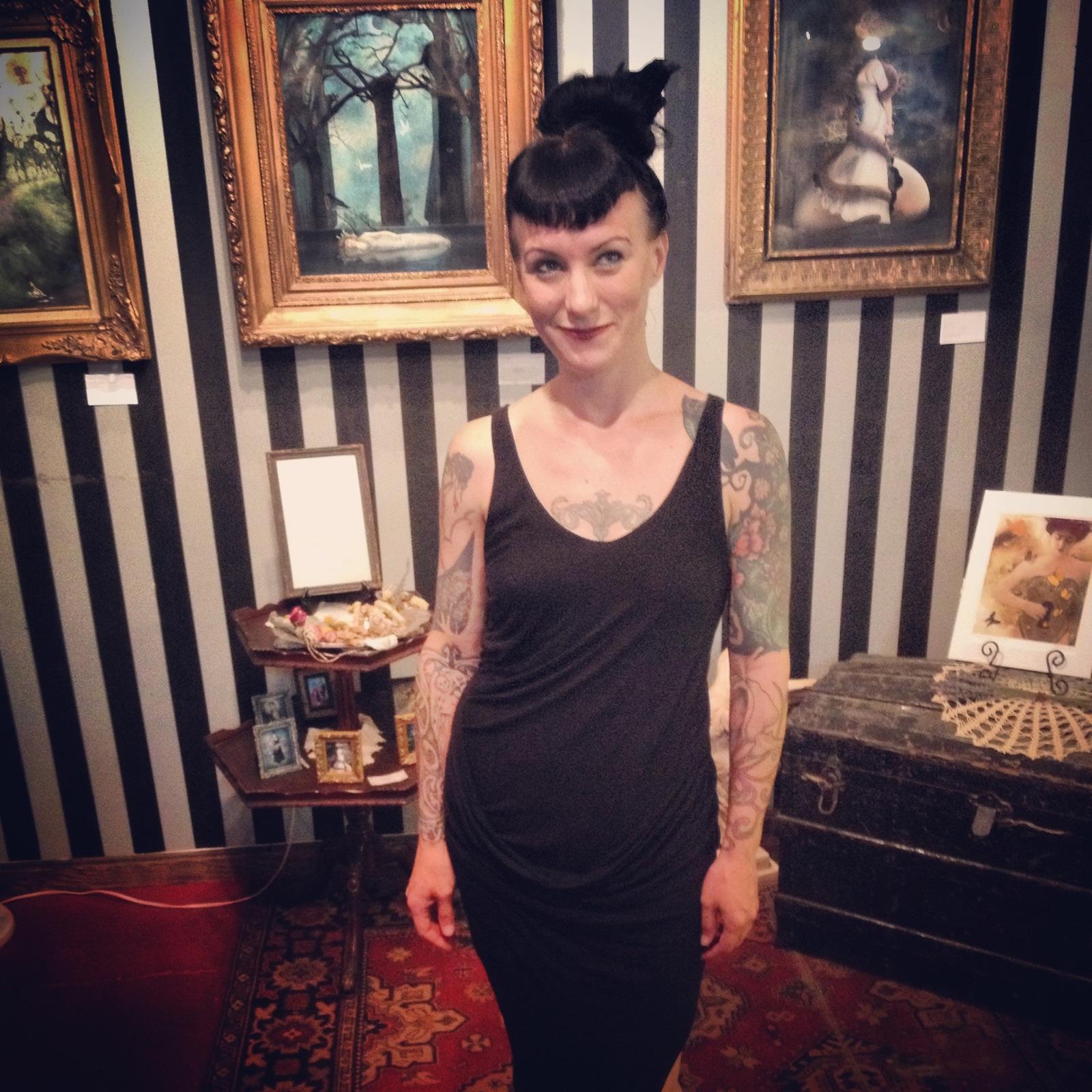 Liz Huston, 2015. Photo by the marvelous Sam Litzinger.